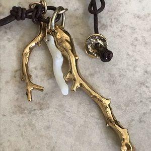 Vintage Chan Luu coral necklace